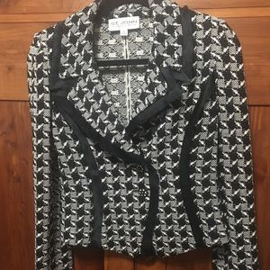 St John Collection Black And White Blazer